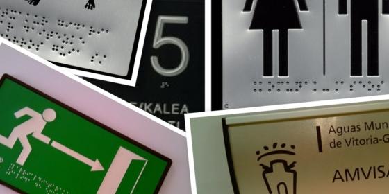 Rotulación en Braille ¿Por que no se cumple la Ley?