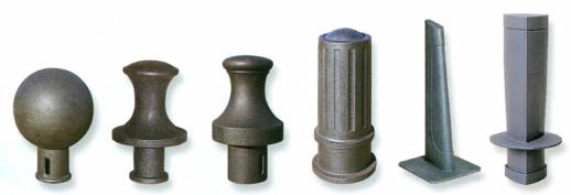 Bolardos y pilonas: fijos, flexibles, abatibles, extraibles, escamoteables,…